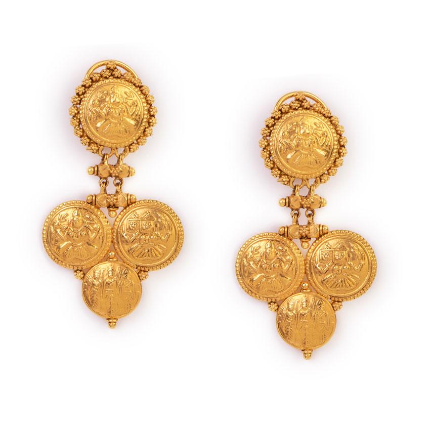 The Goddess Throne Earrings