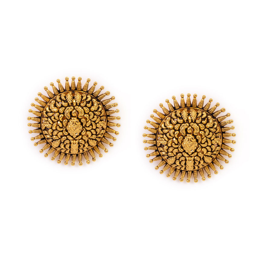 The Temple Chariot Earrings