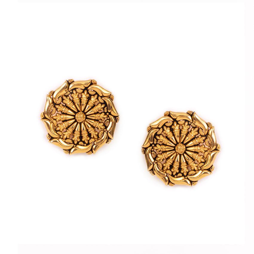 Flower For The Goddess Earrings