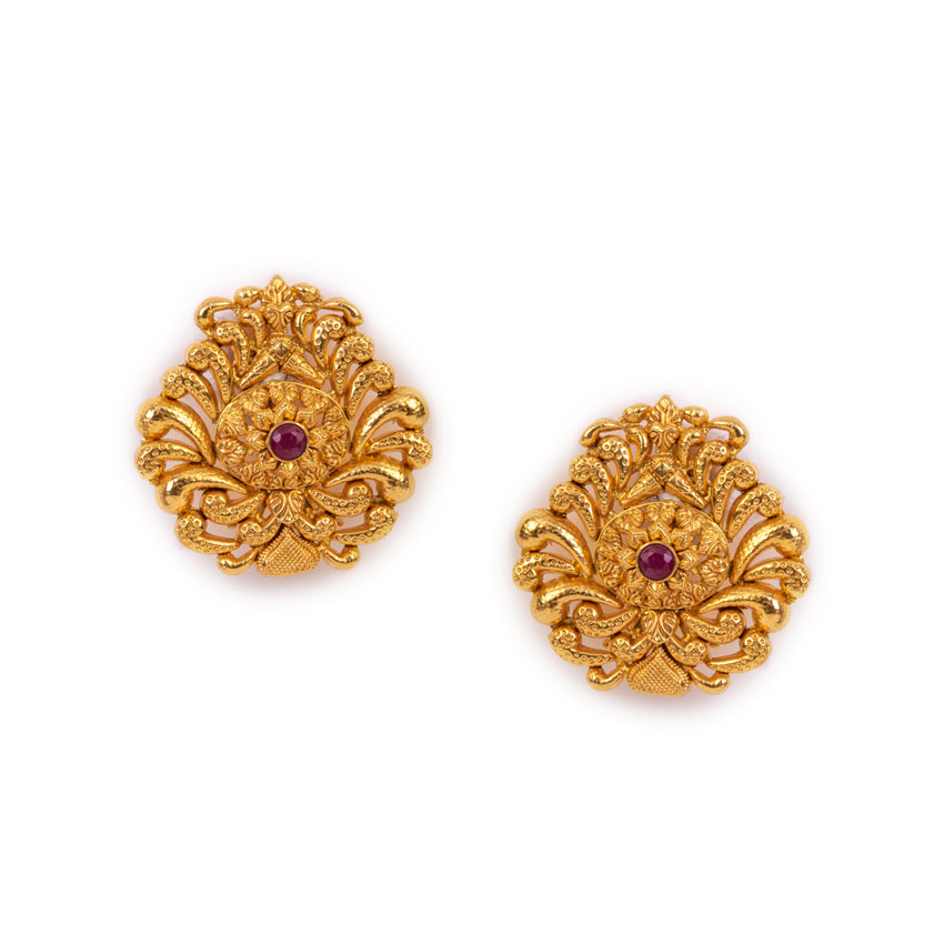 The Temple Pillar Earrings