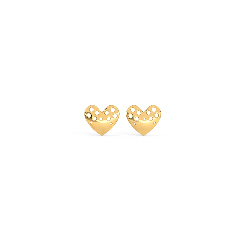 Amore Cutout Kids' Earring