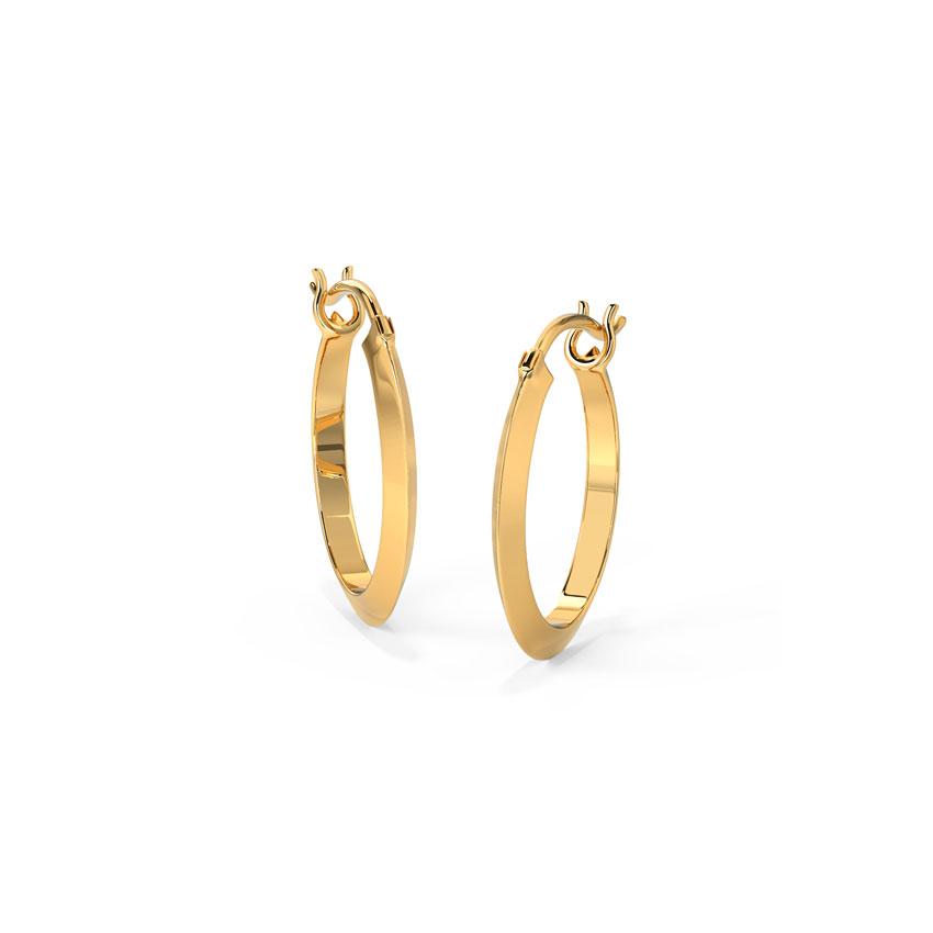 Edgy Hoop Earrings