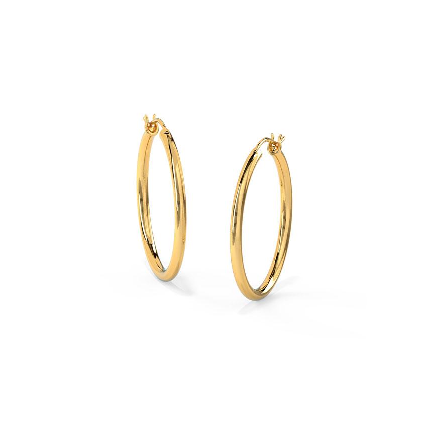 Minimalistic Hoop Earrings