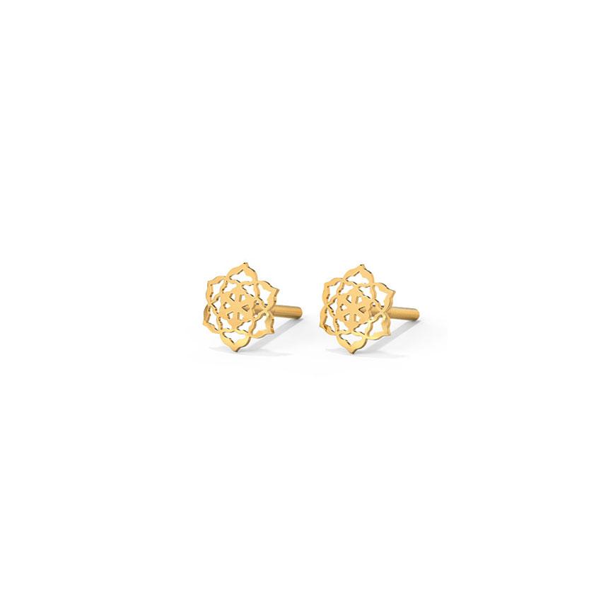 Starry Cutout Stud Earrings