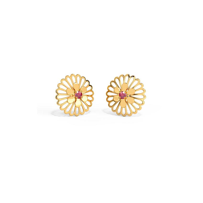 Mishka Cutout Stud Earrings