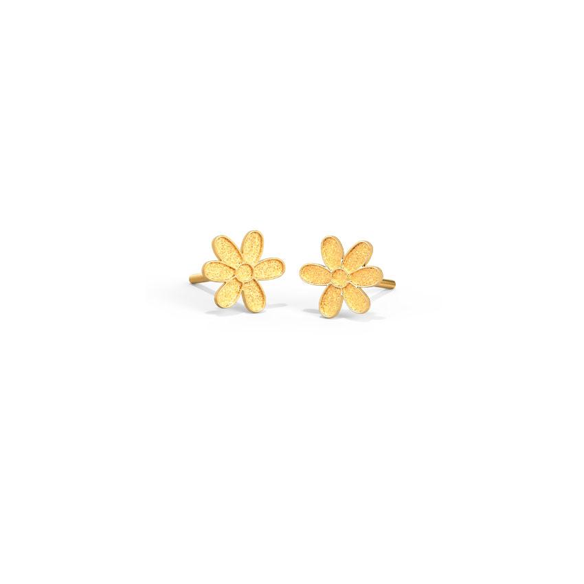 Floral Bloom Kids' Earrings
