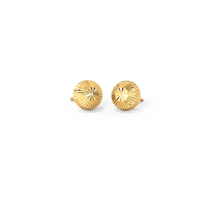 Gold Dew Kids' Earrings