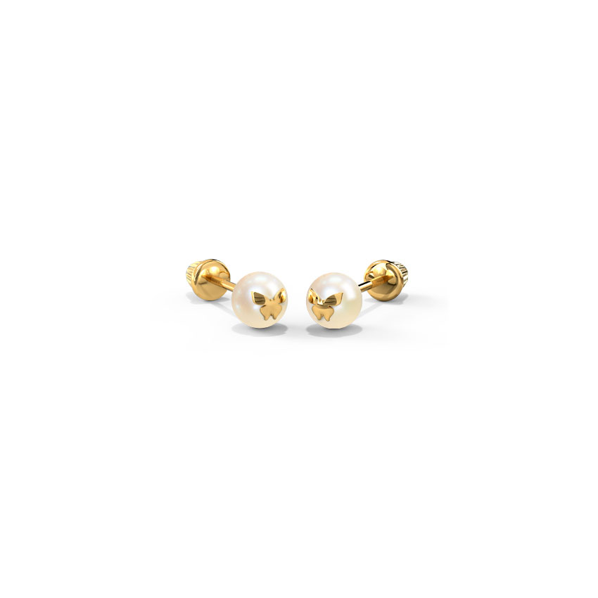 Flutter Pearl Kids' Earrings