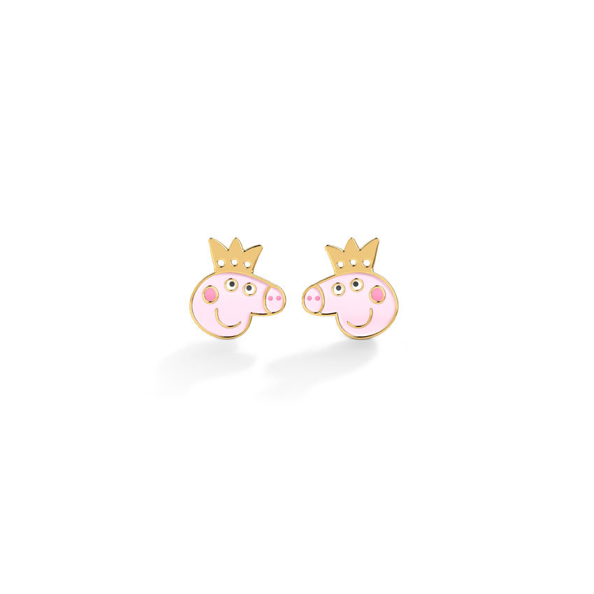Peppa Crown Kids' Earrings