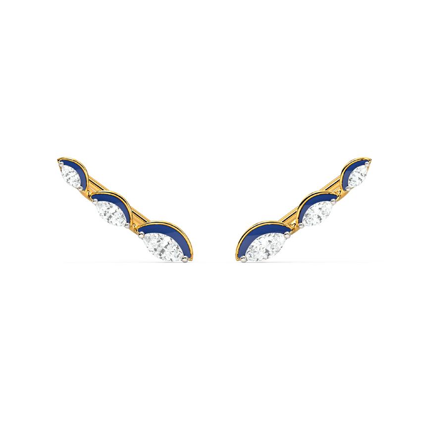 Classic Marquise Ear Cuffs