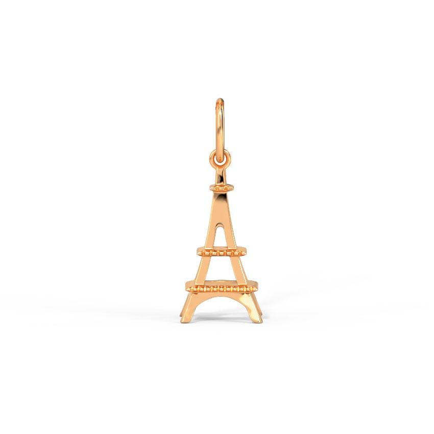 Eiffel In Love' Travel Charm