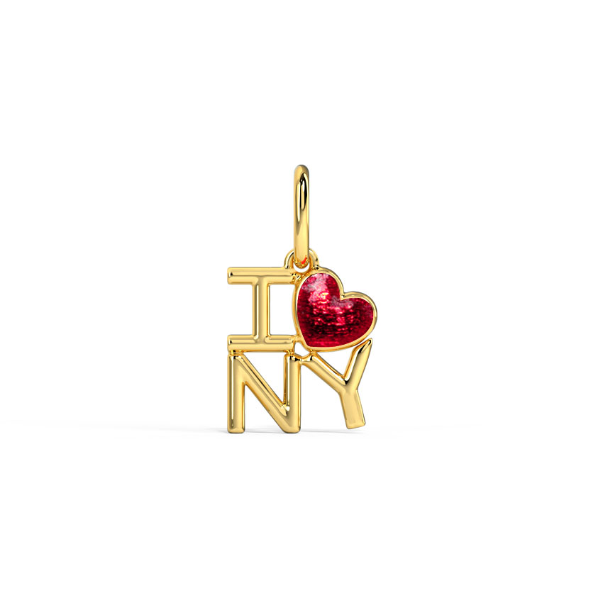 I Love NY Travel Charm
