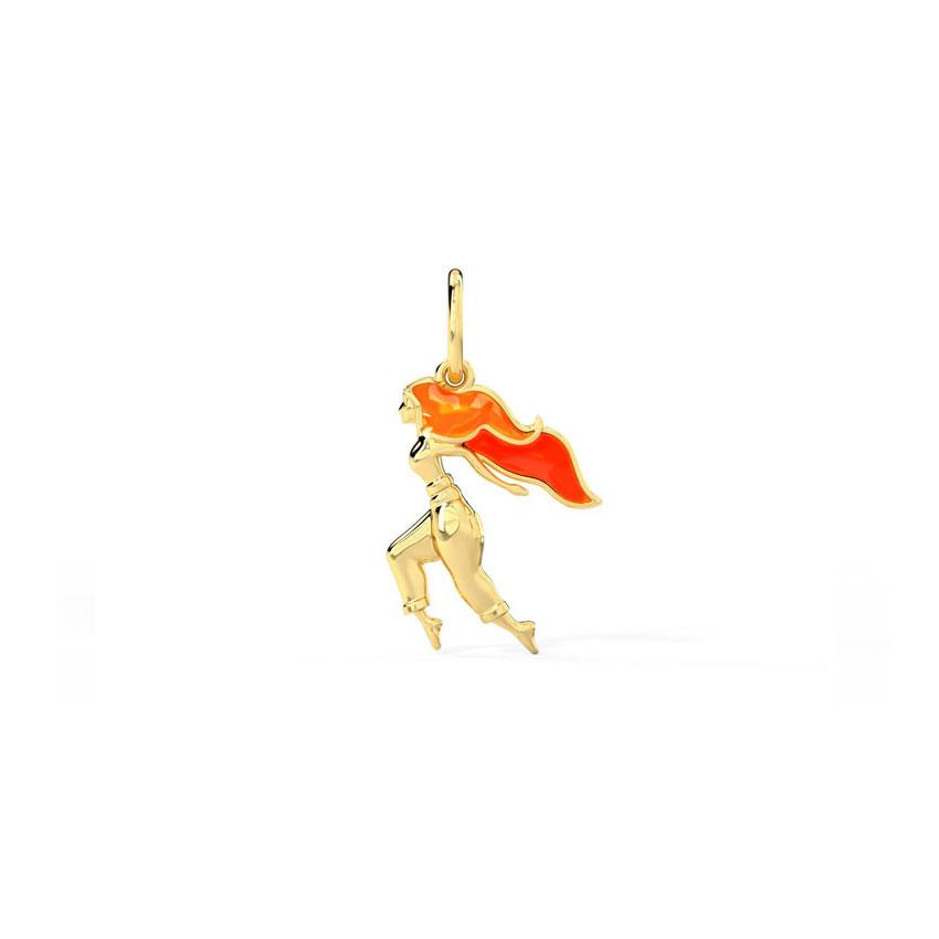 Gold Charms 14 Karat Yellow Gold Mukti Get Set Dance Gold Charm