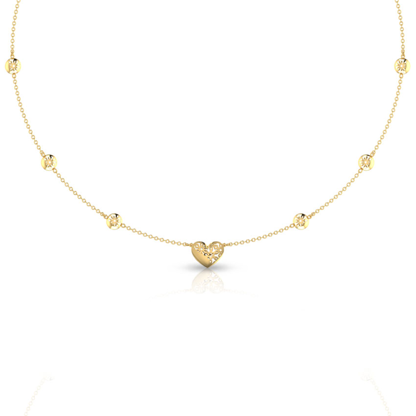 Lesley Cutout Necklace