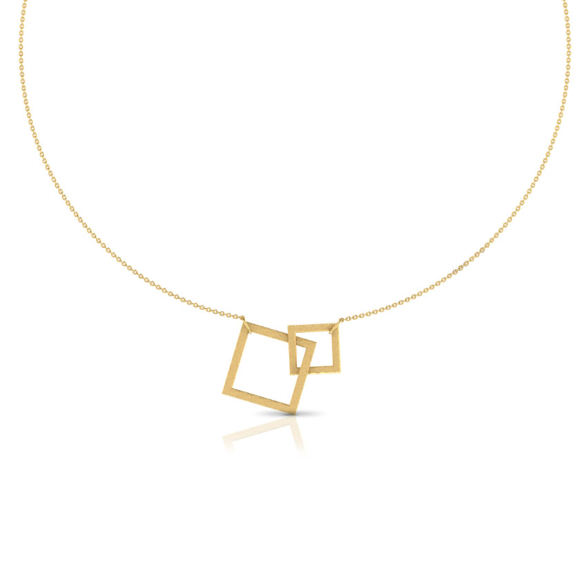 Cyanne Hammered Necklace