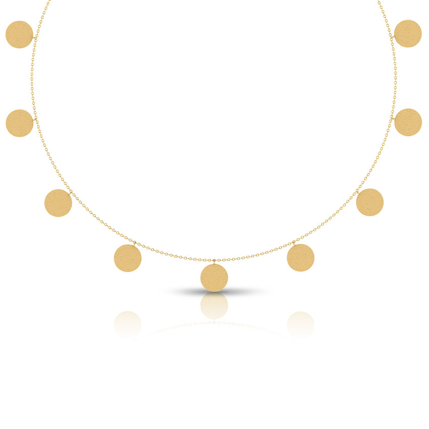 Georgina Hammered Necklace