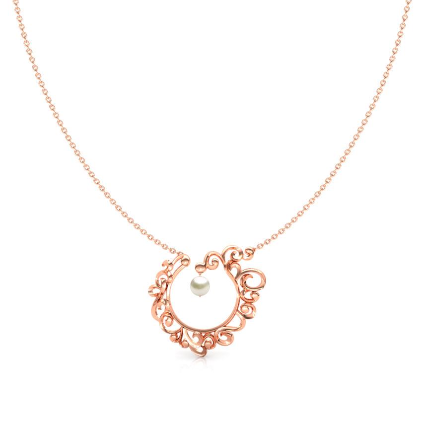 Circular Filigree Necklace