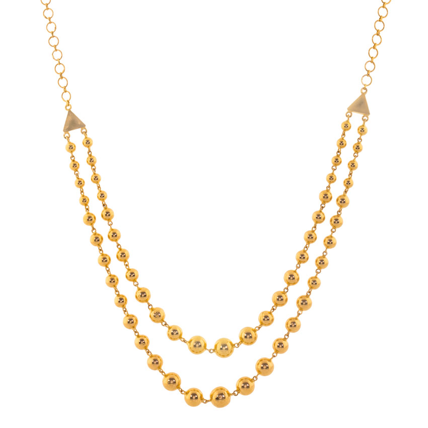 Design Of Gold Necklace With Price