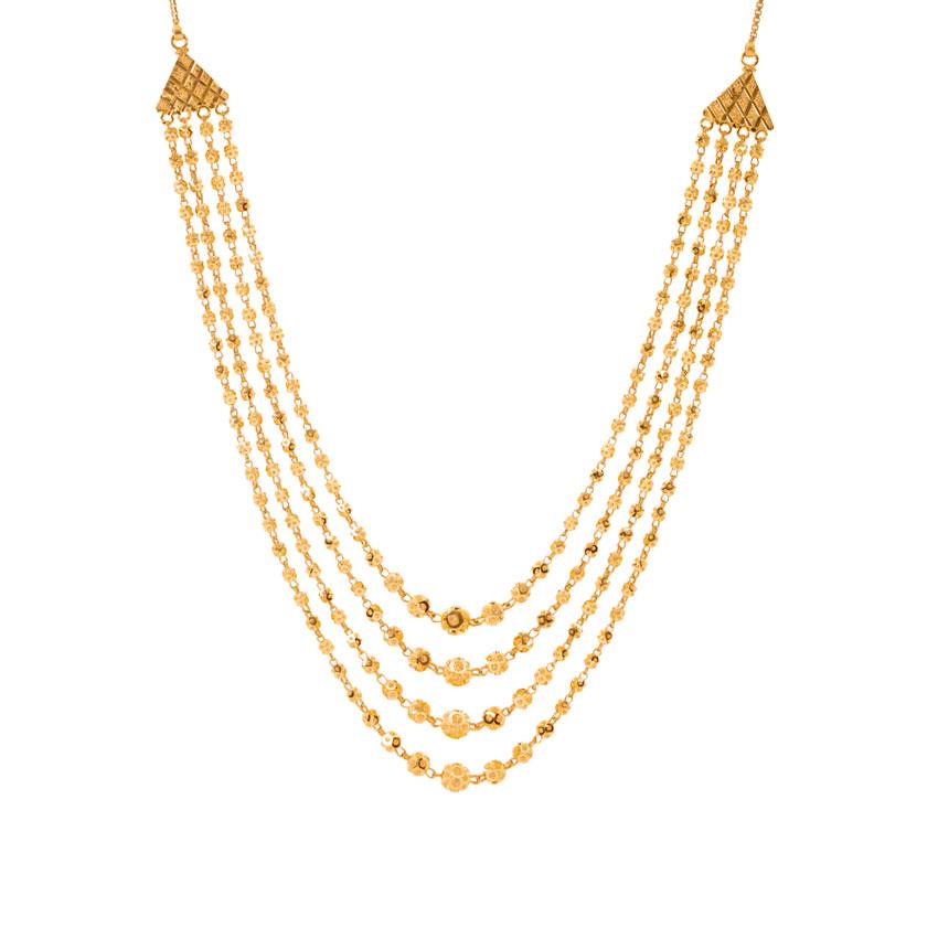 Elva 4 Layered Necklace