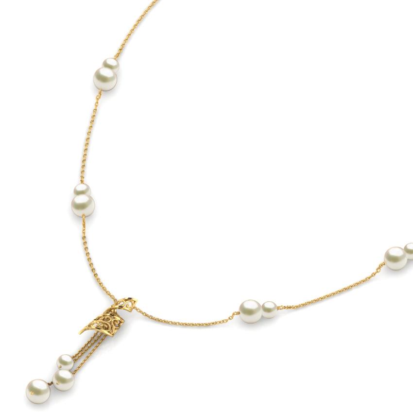 Tassel Pearl Necklace