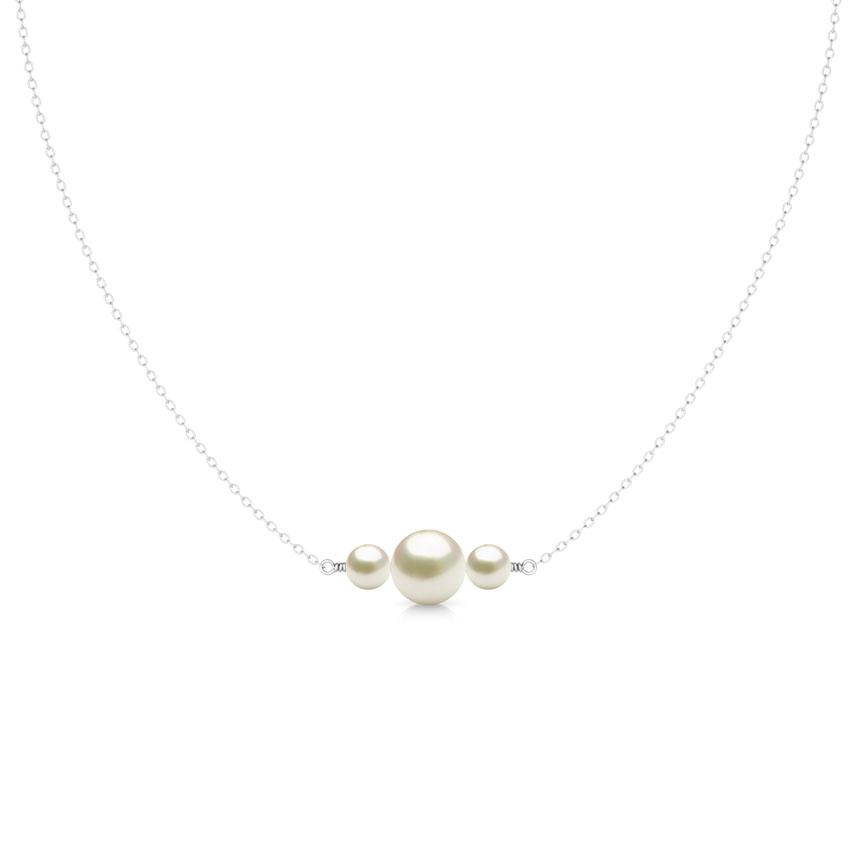 Tri Pearl Necklace
