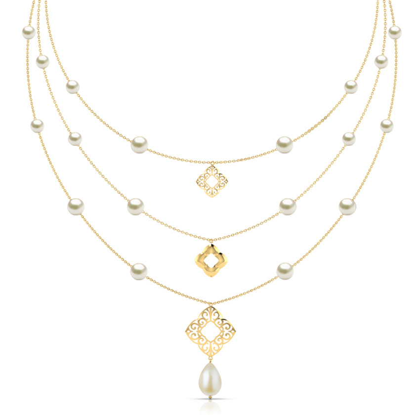 Nelia Cutout Necklace