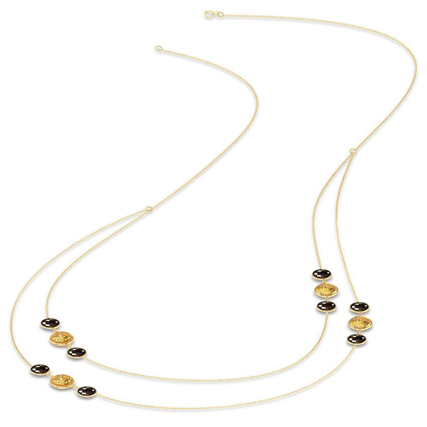 Swish Gemstone Necklace