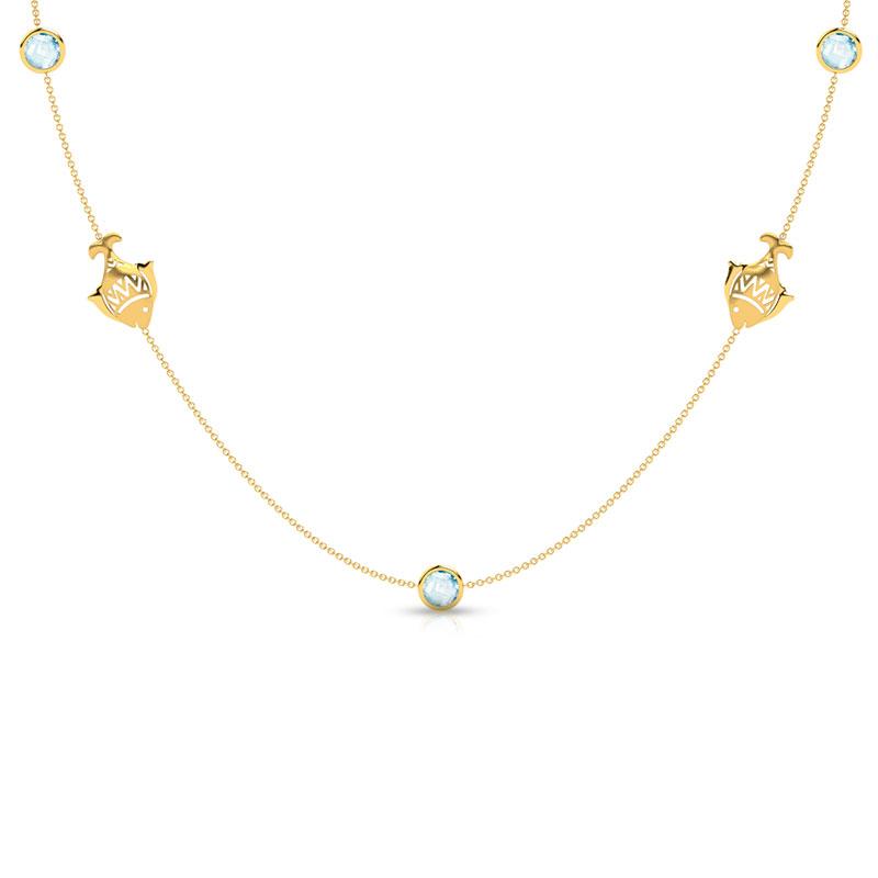 Matsya Topaz Necklace