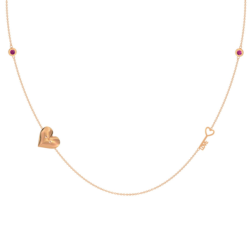 Allure Love Lock Necklace