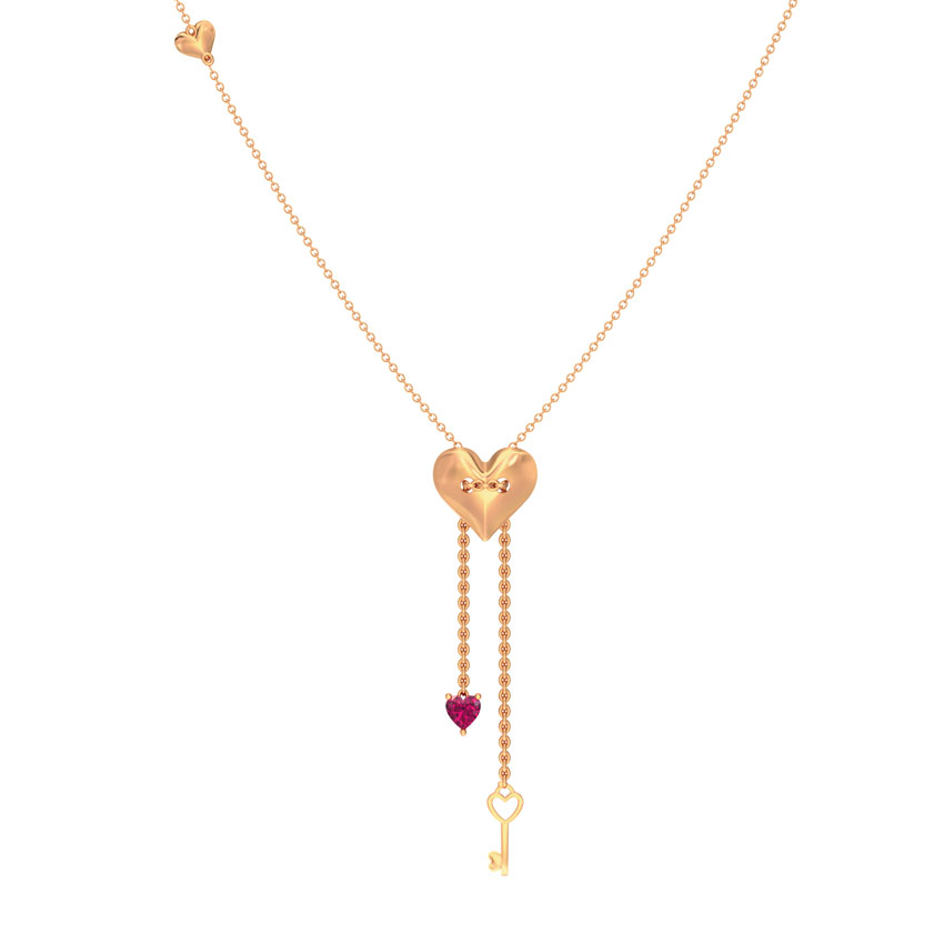 Passion Love Lock Necklace