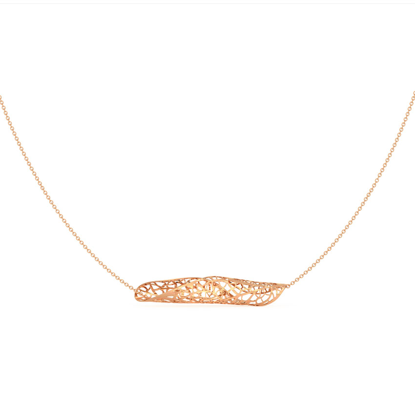 Wave Leaflet Necklace