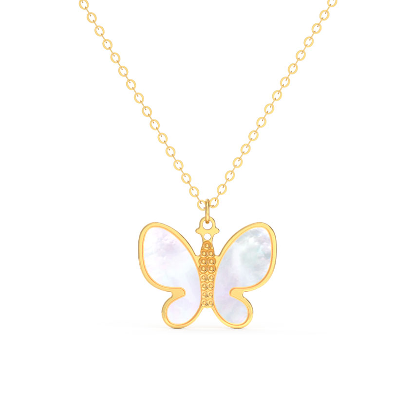 Flutter Mother of Pearl Necklace