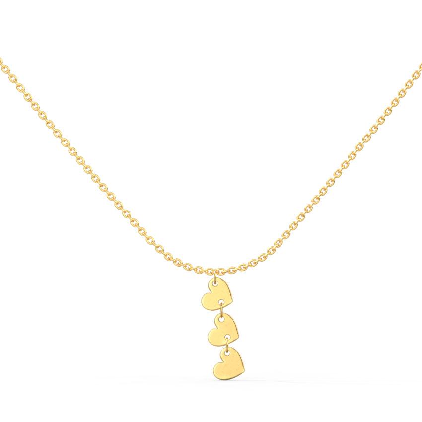 Minimalistic Hearts Necklace
