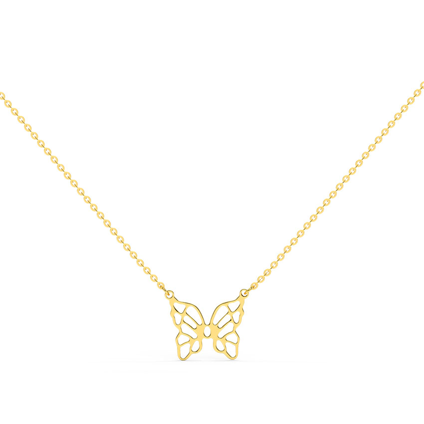 Winsome Butterfly Necklace