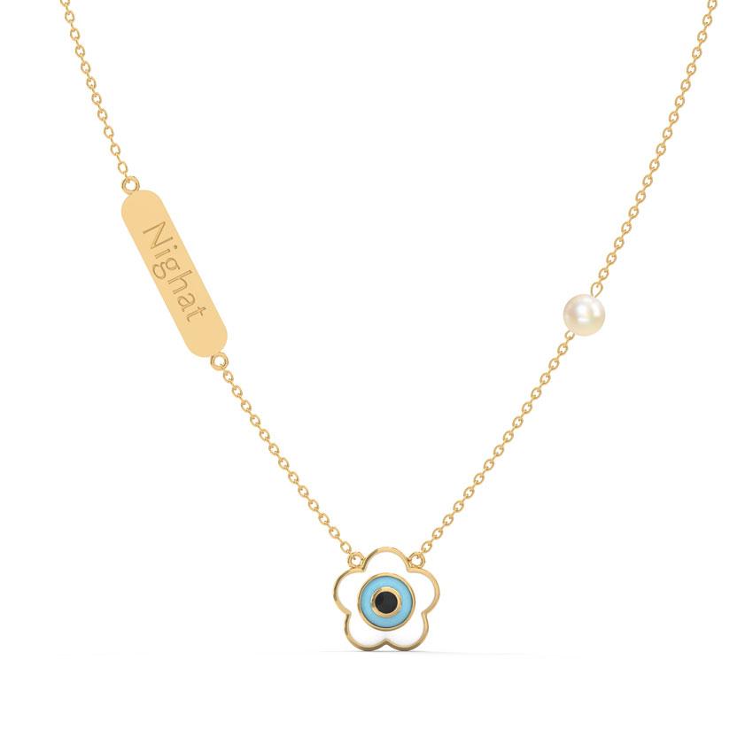 Eternal Bloom Personalised Necklace