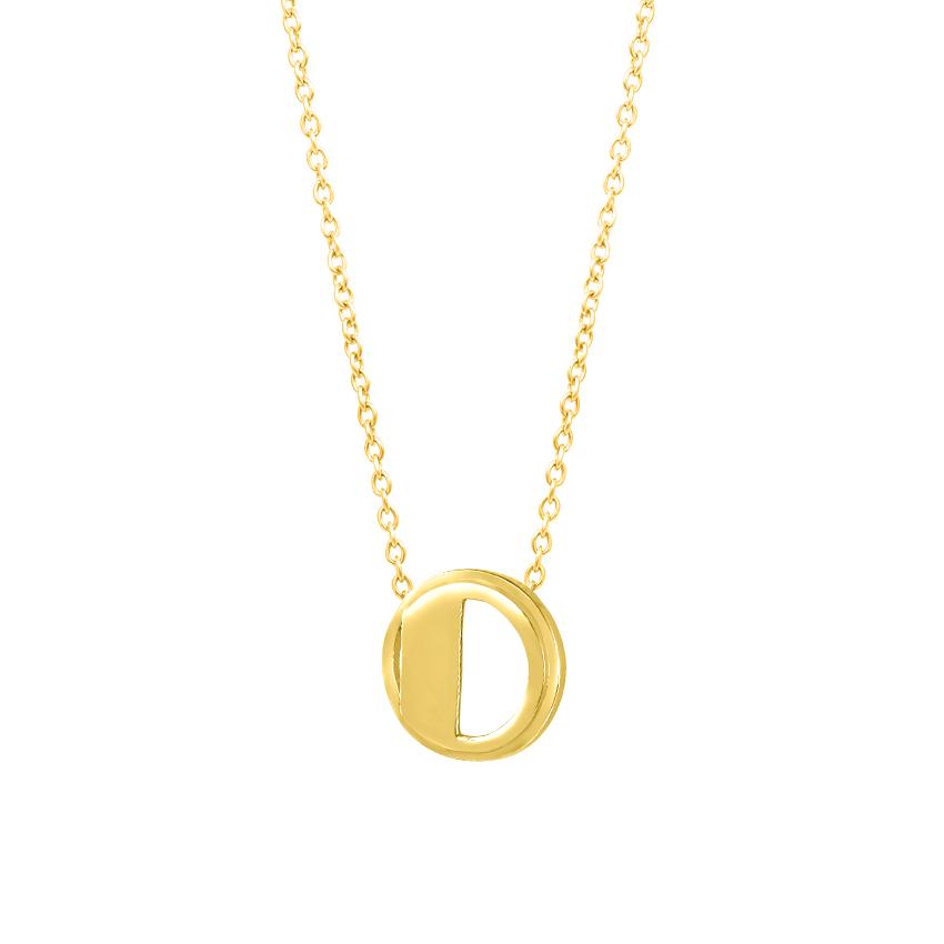 Artsy Alphabet D Necklace