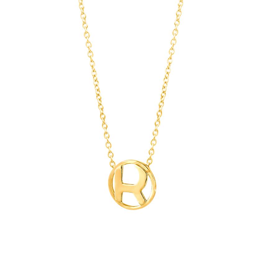 Artsy Alphabet R Necklace