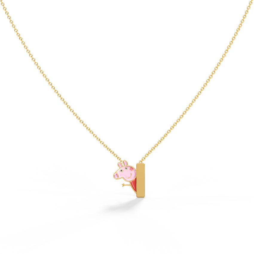 Peppa Personalised Kids' Necklace