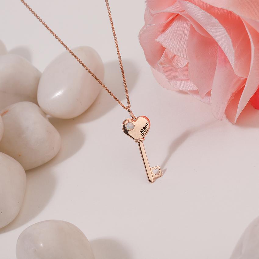Opal Amore Key Necklace