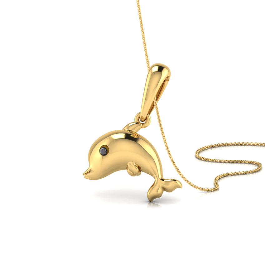 Jumping Dolphin Kids' Pendant