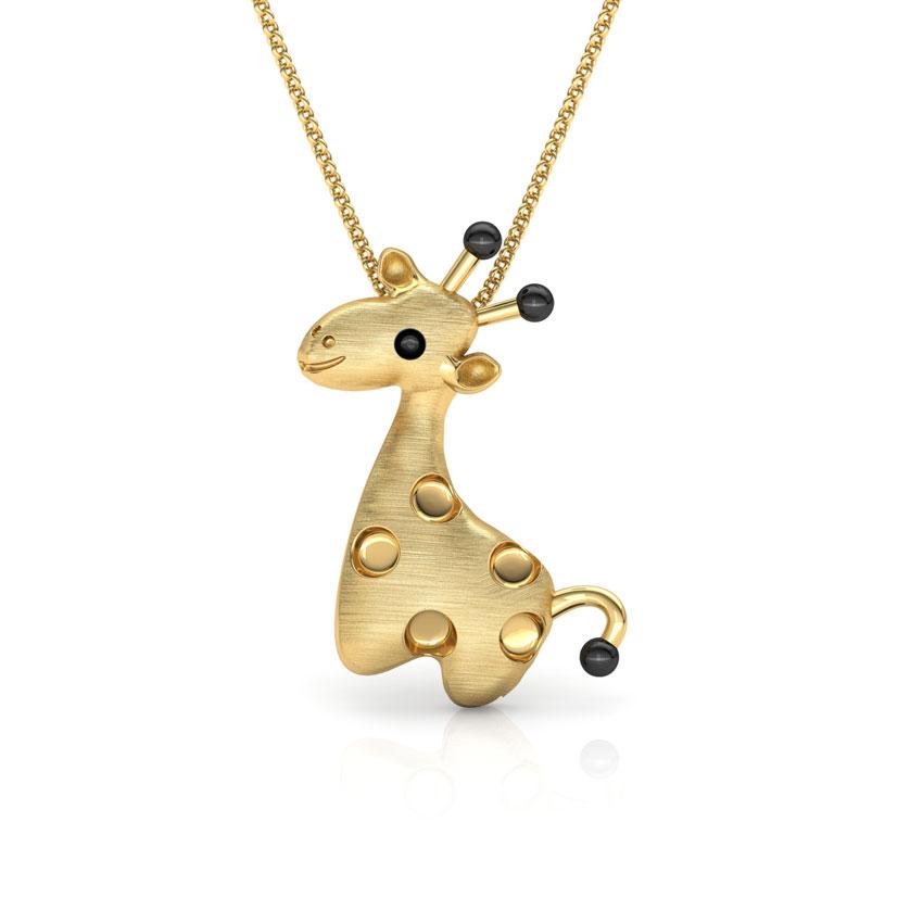 Cute Giraffe Kids' Pendant