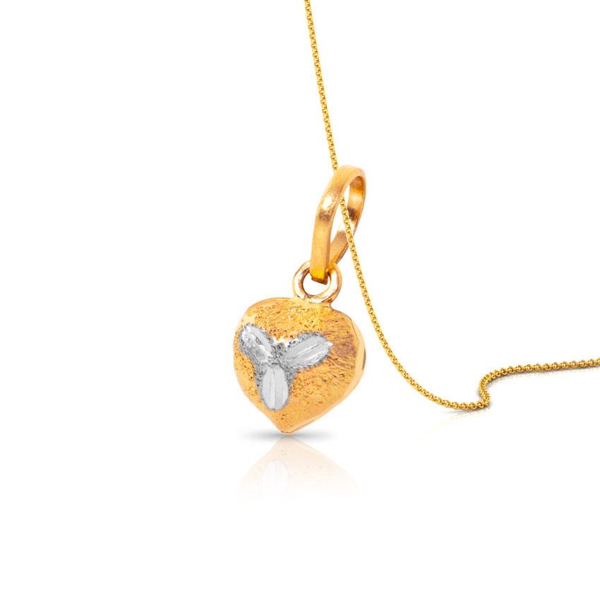 Heart Glint Kids' Pendant