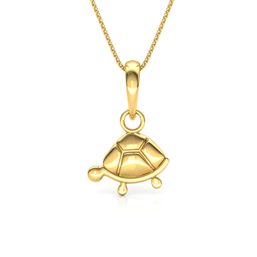 Little turtle pendant jewellery india online caratlane aloadofball Choice Image