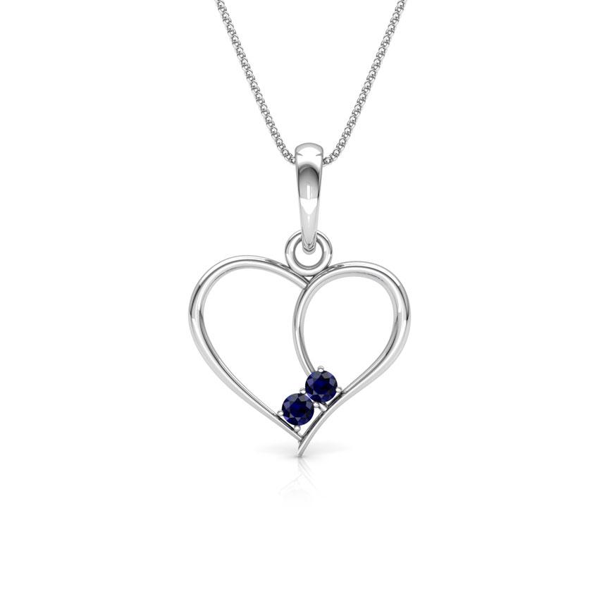 Lovestruck Sapphire Pendant