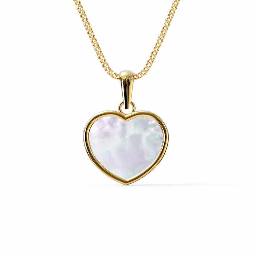 Heart Mother of Pearl Pendant