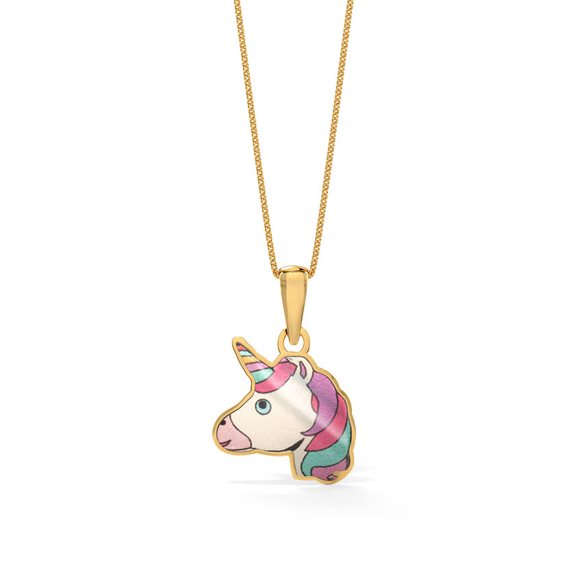 Enchanted Unicorn Pendant