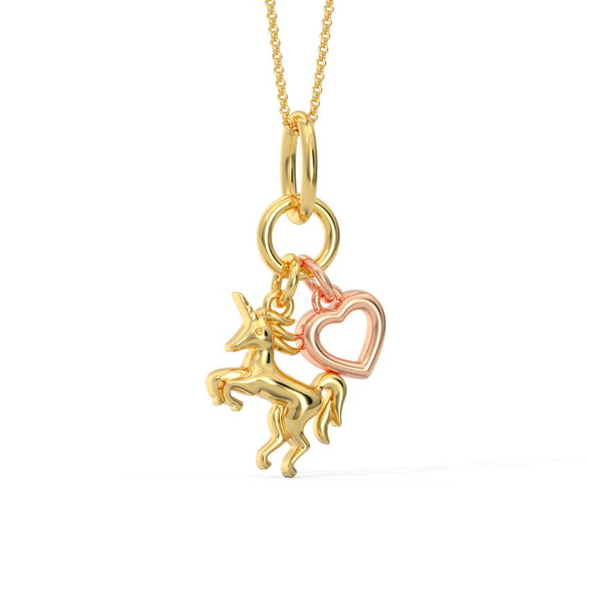 Unicorn Charm Pendant