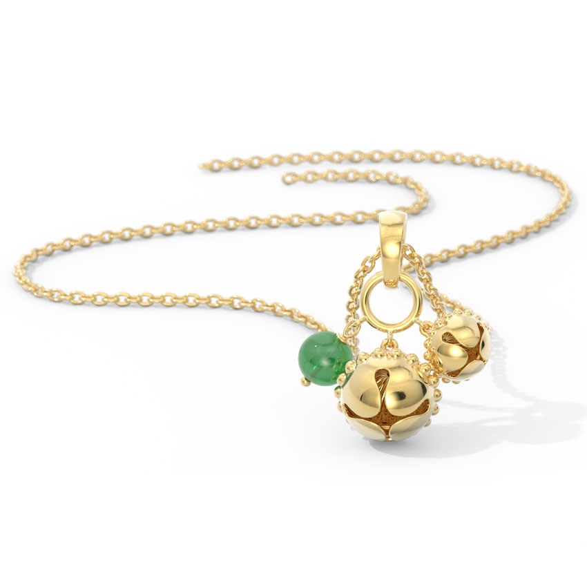 Shobha Gold Pendant