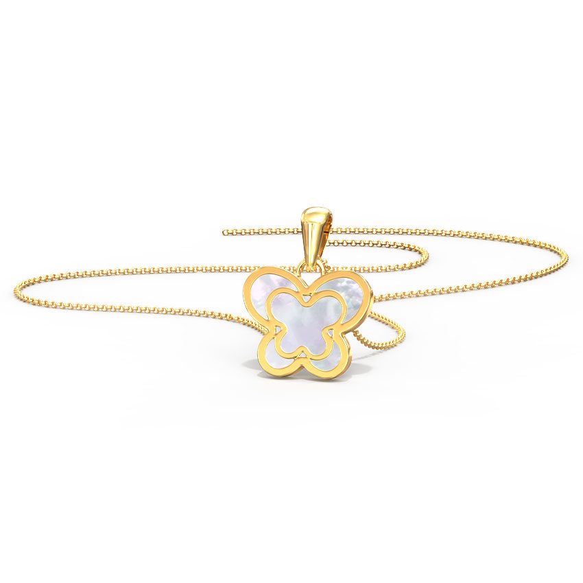 Fly Away Mother of Pearl Kids' Pendant