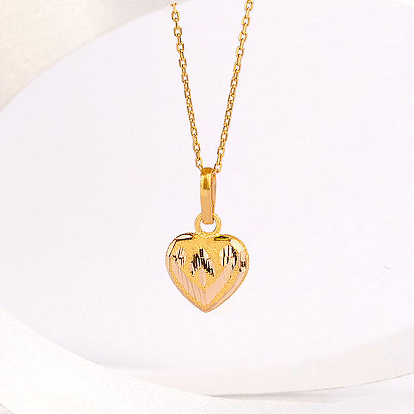 Heart Gold Pendant